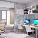 Căn hộ Office tel Sky Center