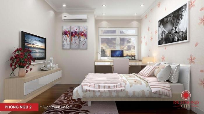 Phòng ngủ 2 tại căn hộ Richmond city