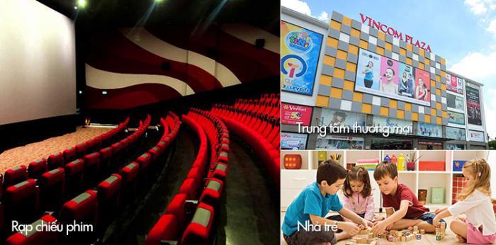 Trung tâm thương mại & rạp chiếu phim tại căn hộ Moonlight residences đặng văn bi thủ đức