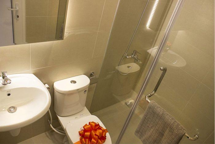 Phòng WC căn hộ 9 view quận 9