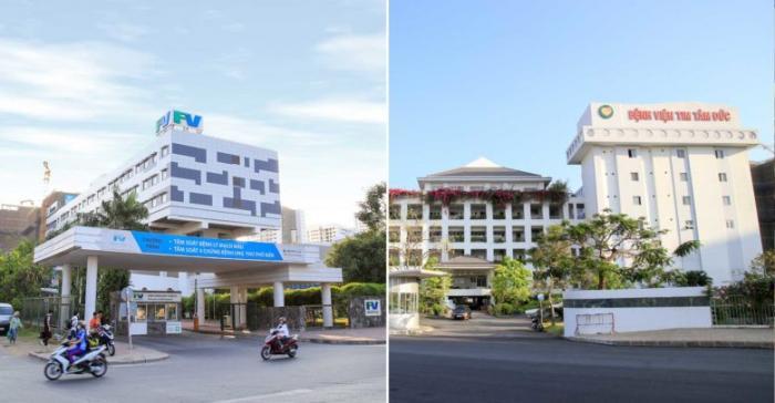 Bệnh viện Việt Pháp căn hộ citizen trung sơn