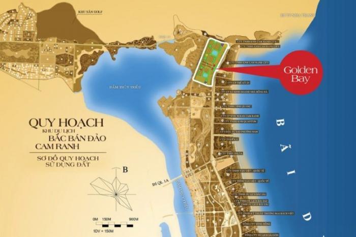 Vị trí Golden bay Cam Ranh