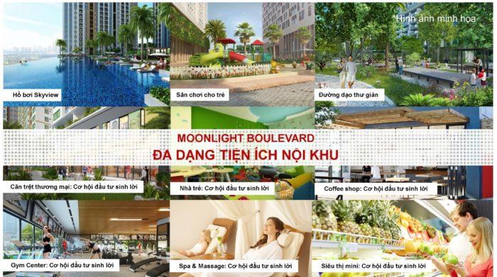 Nội khu căn hộ Moonlight Boulevard Bình Tân