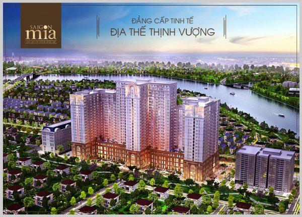 Phối cảnh dự án căn hộ Saigon Mia