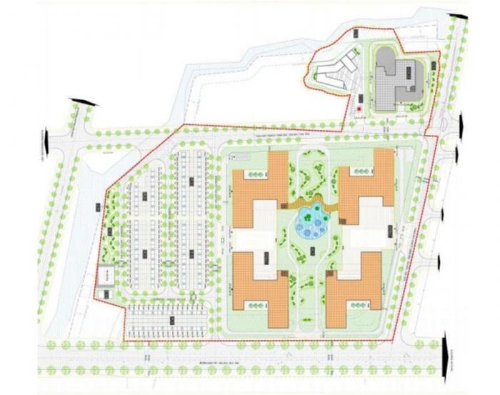 Mặt bằng căn hộ Q7 Complex quận 7