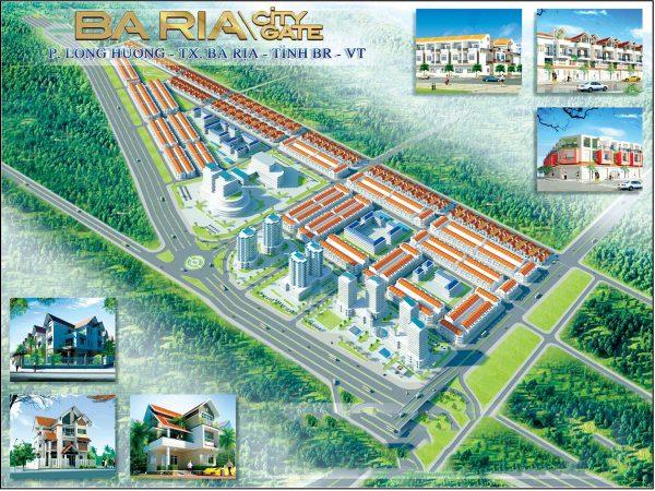 Phối cảnh dự án Bà Rịa City Gate