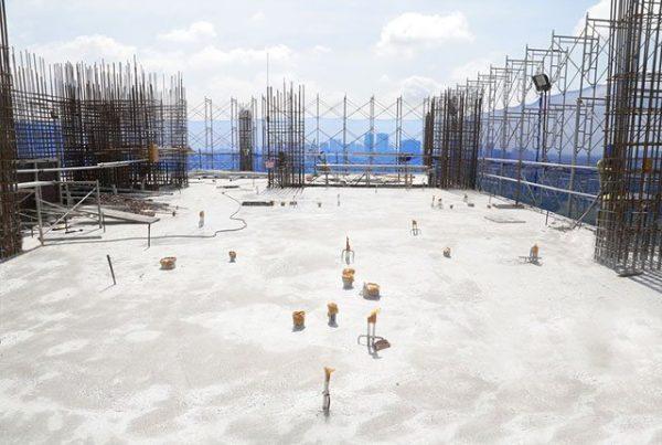 Hoàn thiện đổ bê tông sàn tầng 15 tại Block Sounthern dự án Saigon Mia