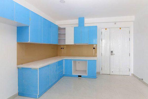Lắp đặt tủ bếp từ tầng 5-19 Block Southern căn hộ Saigon Mia Trung Sơn
