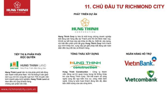 Hưng Thịnh Corp chủ đầu tư dự án