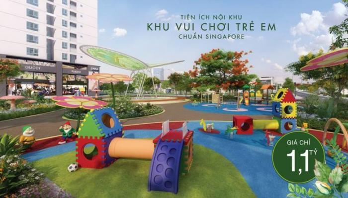 Khu vui chơi Singapore đầu tiên tại căn hộ Lavita garden