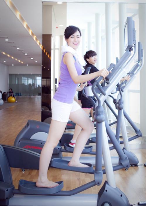 Phòng Gym tại căn hộ Moonlight Park view Bình Tân