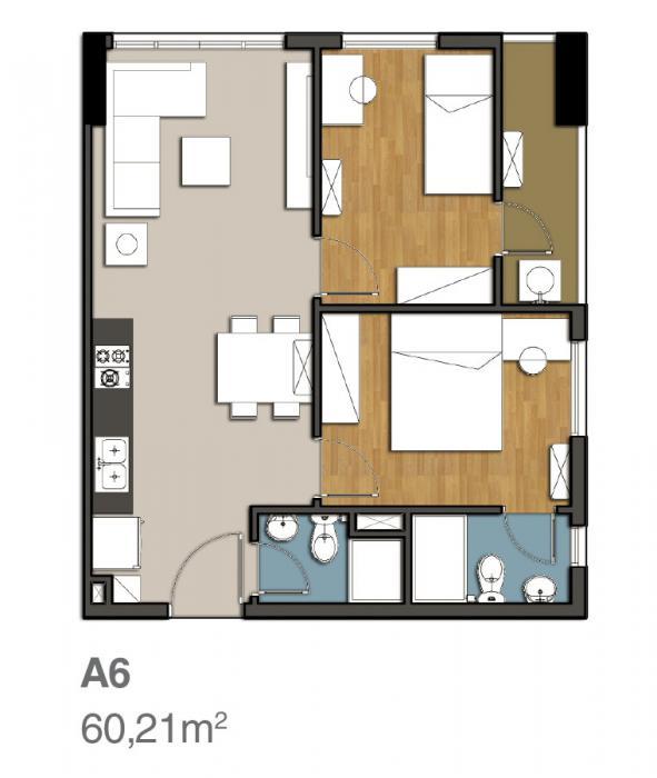 Mẫu thiết kế căn hộ 9 view quận 9