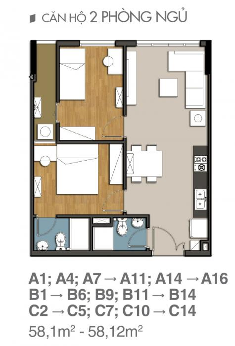 Mẫu thiết kê căn hộ 9 view quận 9