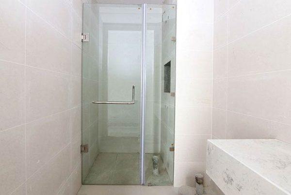 Lắp cửa kính phòng tắm tầng 7-18 Block Northern dự án Saigon Mia
