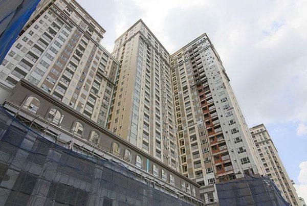 Tổng thể Block Central dự án Saigon Mia Trung Sơn