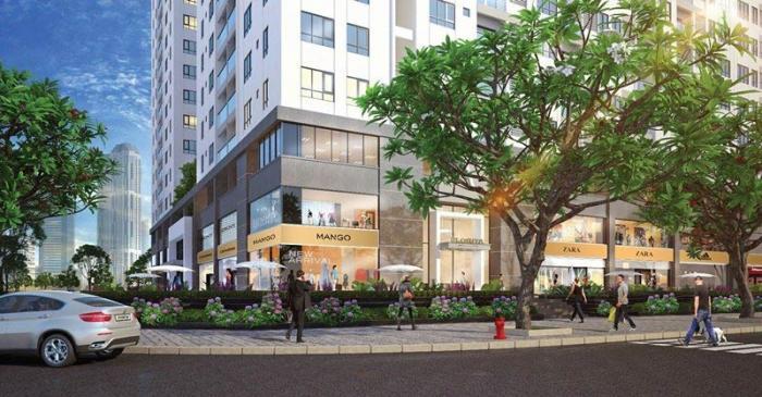 Trung tâm thương mại tại căn hộ Q7 Boulevard